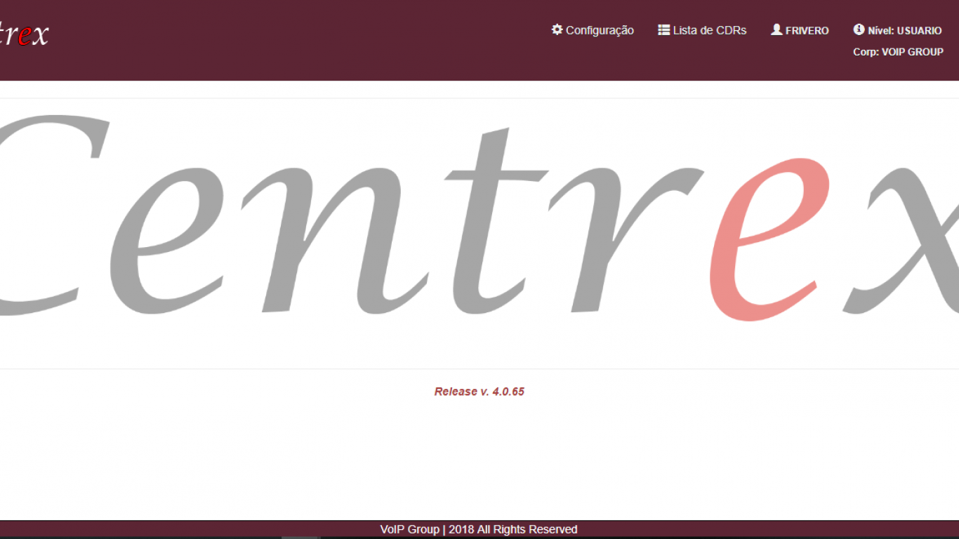 Frontend Centrex